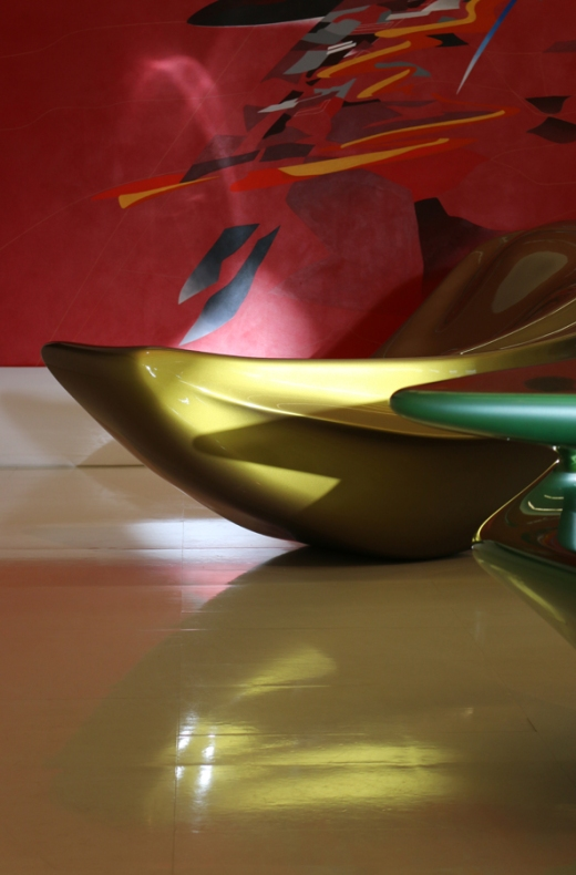 Zaha Hadid Design Gallery © Lavender's Blue Stuart Blakley