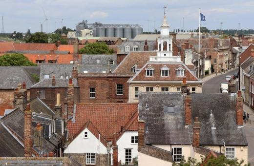 Clifton House King's Lynn View from Tower © Lavender's Blue Stuart Blakley