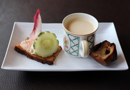 Le Channel Restaurant Calais Amuse Bouche © Lavender's Blue Stuart Blakley