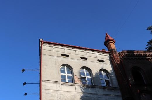 Gdansk Corner Building © Lavender's Blue Stuart Blakley