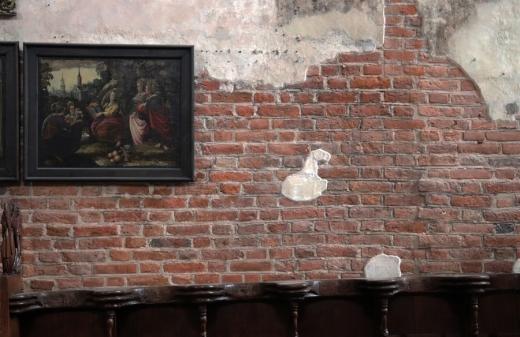 St John's Centre Gdansk 10 Virgins Painting © Lavender's Blue Stuart Blakley