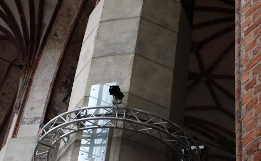 St John's Centre Gdansk Concrete Column © Lavender's Blue Stuart Blakley