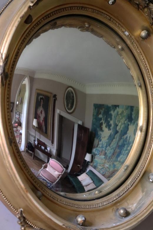 The Summer House Hampshire Hostess Mirror © Lavender's Blue Stuart Blakley