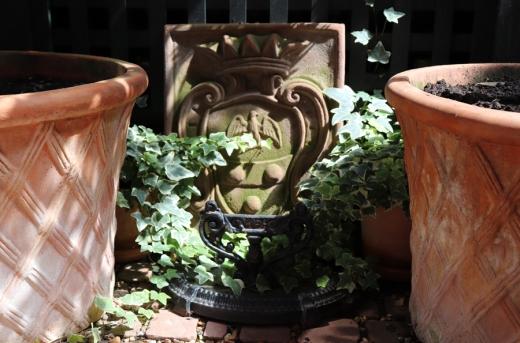 lavender's blue courtyard plaque © lavender's blue stuart blakley