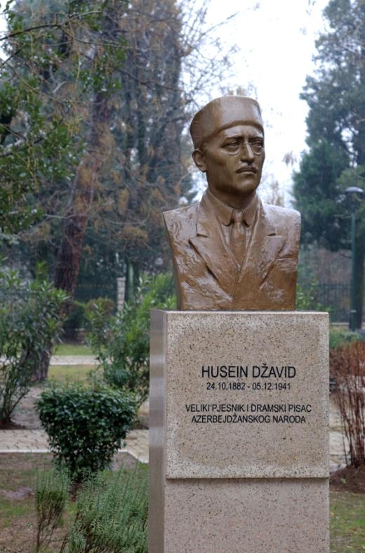 King Nikola I Park Bust Podgorica Montenegro © Lavender's Blue Stuart Blakley