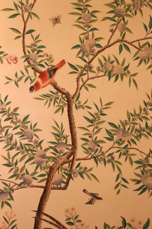 Pitzhanger Manor Party Chinese Wallpaper © Lavender's Blue Stuart Blakley