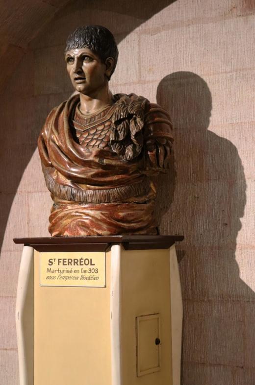 St Ferreol Church Marseille Bust © Lavender's Blue Stuart Blakley
