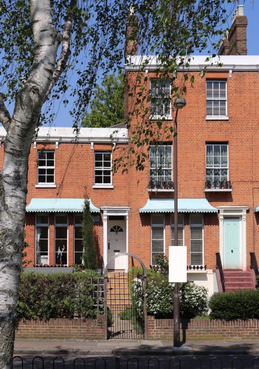 Clifton Crescent Brimmington Park Peckham © Lavender's Blue Stuart Blakley