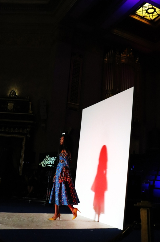 Becca Apparel Africa Fashion Week London © Lavender's Blue Stuart Blakley