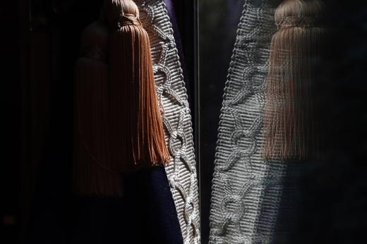 Belmond British Pullman Murder Mystery Lunch Curtains © Lavender's Blue Stuart Blakley