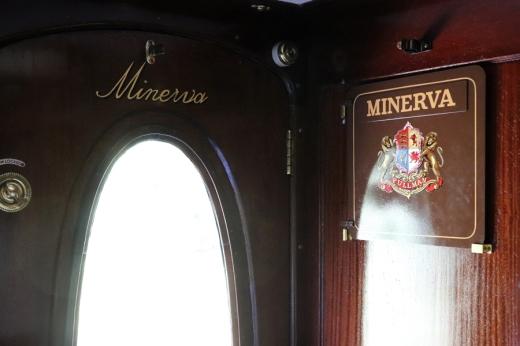 Belmond British Pullman Murder Mystery Lunch Minerva Interior © Lavender's Blue Stuart Blakley