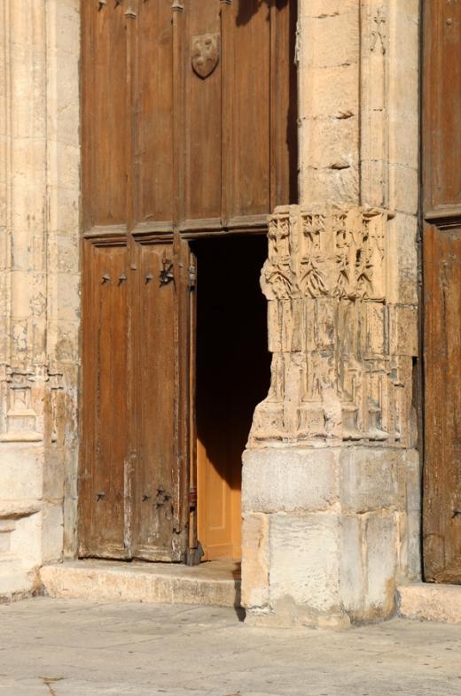 Church Door Avignon © Lavender's Blue Stuart Blakley