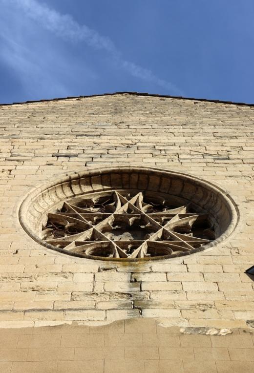 Church Rosette Avignon © Lavender's Blue Stuart Blakley