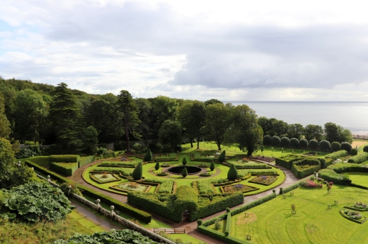 Dunrobin Castle Garden © Lavender's Blue Stuart Blakley
