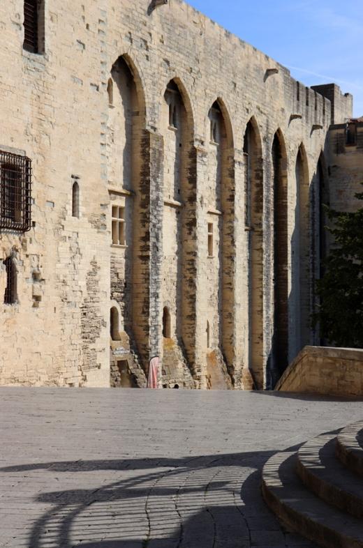 Papal Palace Avignon © Lavender's Blue Stuart Blakley
