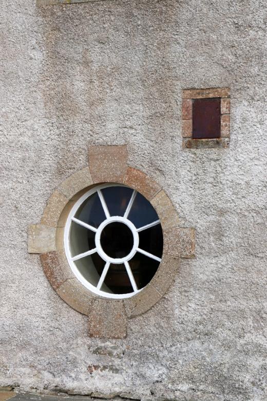 Skaill House Orkney Island Bullseye Window © Lavender's Blue Stuart Blakley