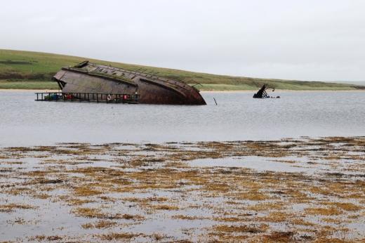 Sunken Ships Orkney Islands © Lavender's Blue Stuart Blakley