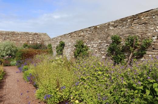The Castle of Mey Caithness Garden © Lavender's Blue Stuart Blakley