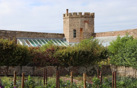 The Castle of Mey Caithness Glasshouse © Lavender's Blue Stuart Blakley