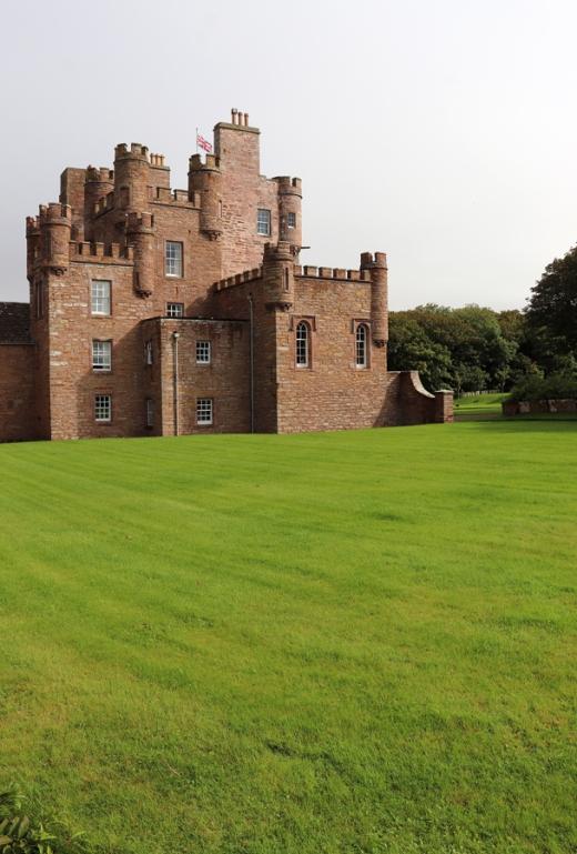 The Castle of Mey Caithness Side Elevation © Lavender's Blue Stuart Blakley