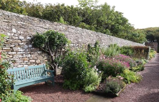 The Castle of Mey Caithness Walled Garden © Lavender's Blue Stuart Blakley