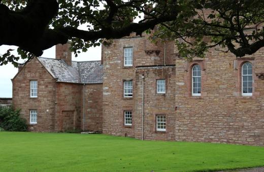 The Castle of Mey Caithness Wing © Lavender's Blue Stuart Blakley