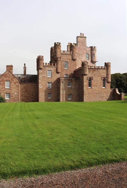 The Queen Mother's Castle of Mey Caithness © Lavender's Blue Stuart Blakley