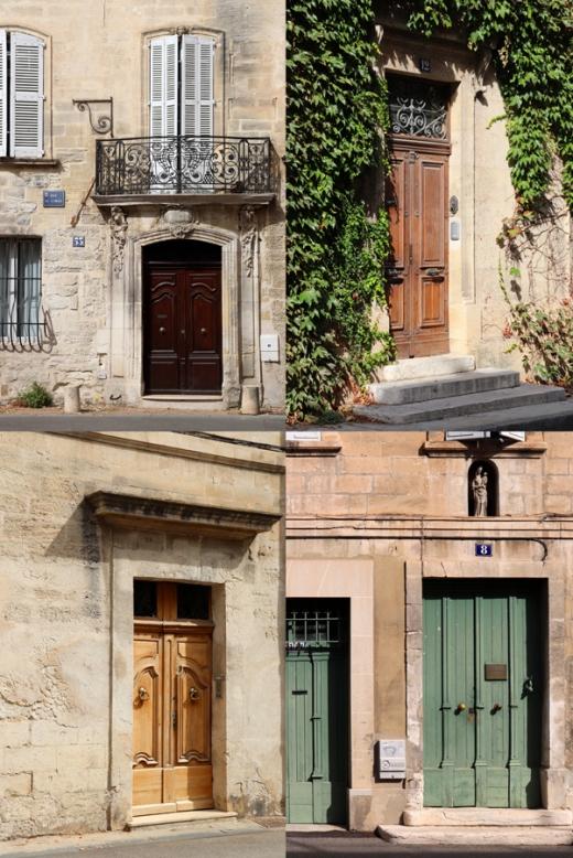 Avignon Doors © Lavender's Blue Stuart Blakley