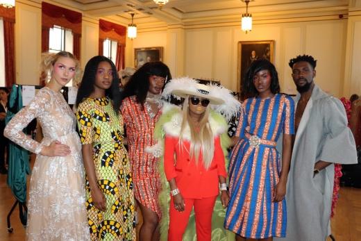 Backstage AFWL Africa Fashion Week London © Lavender's Blue Stuart Blakley