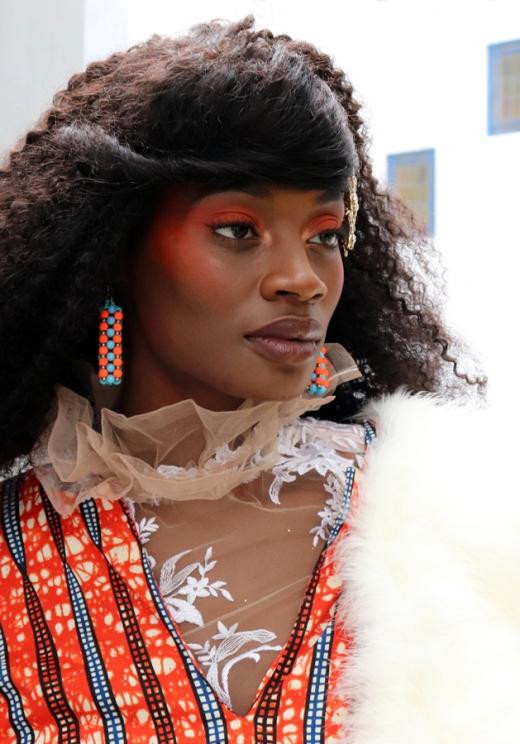 Beauty AFWL Africa Fashion Week London © Lavender's Blue Stuart Blakley