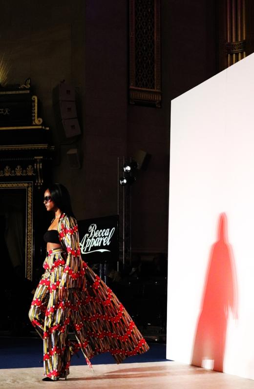 Becca Apparel Africa Fashion Week London © Lavender's Blue Stuart Blakley