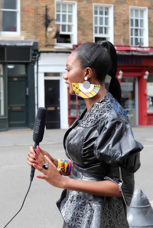 Live AFWL Africa Fashion Week London © Lavender's Blue Stuart Blakley