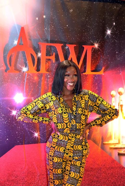 Showcase AFWL Africa Fashion Week London © Lavender's Blue Stuart Blakley