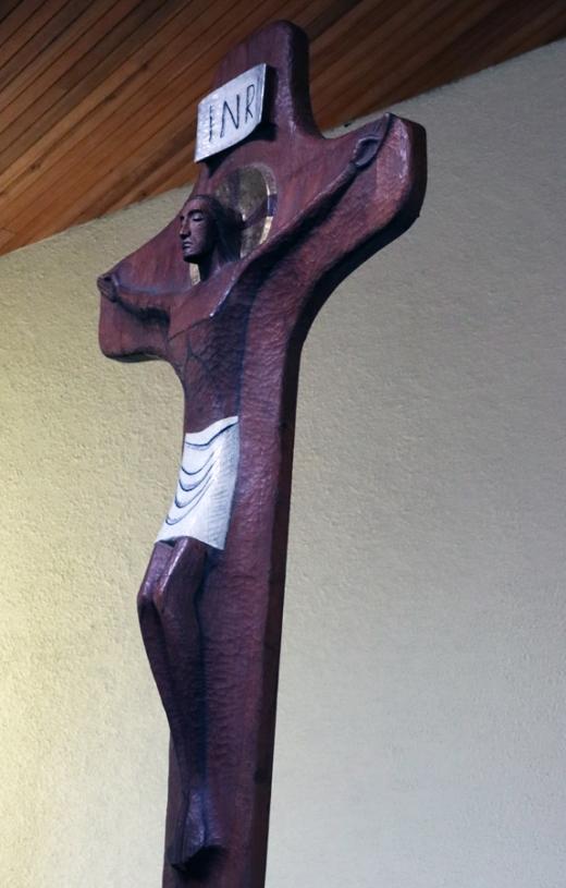 St Patrick's Church Murlog Donegal Crucifix © Lavender's Blue Stuart Blakley