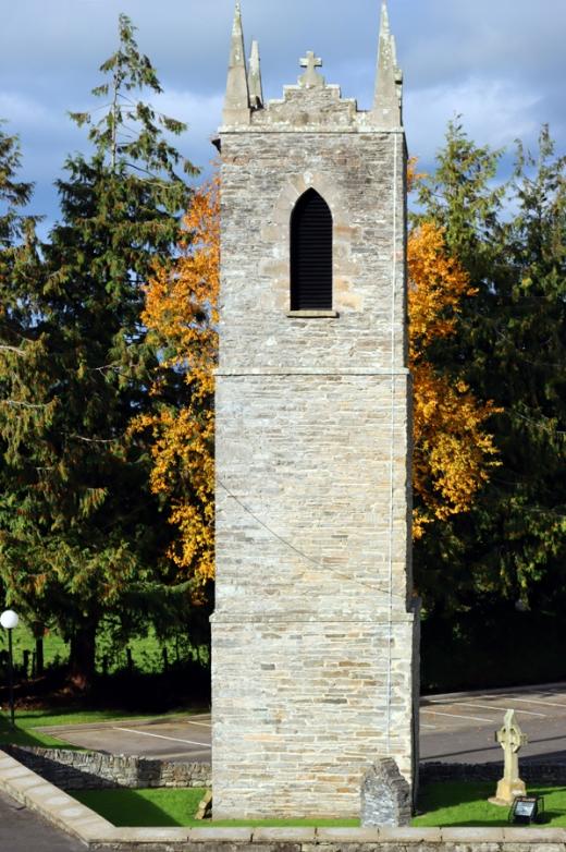 St Patrick's Church Murlog Donegal Old Church Tower © Lavender's Blue Stuart Blakley