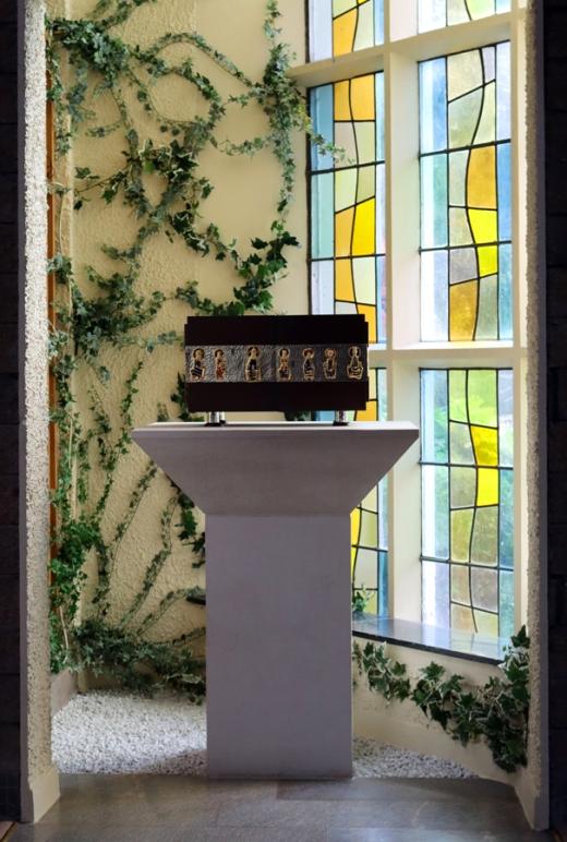 St Patrick's Church Murlog Donegal Tabernacle Vestibule © Lavender's Blue Stuart Blakley