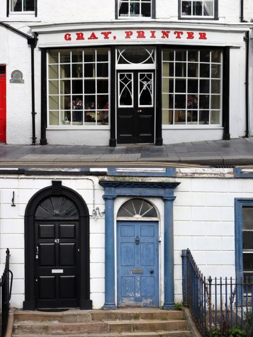Strabane Doors © Lavender's Blue Stuart Blakley