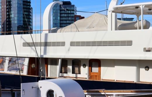 Yacht Southampton © Lavender's Blue Stuart Blakley