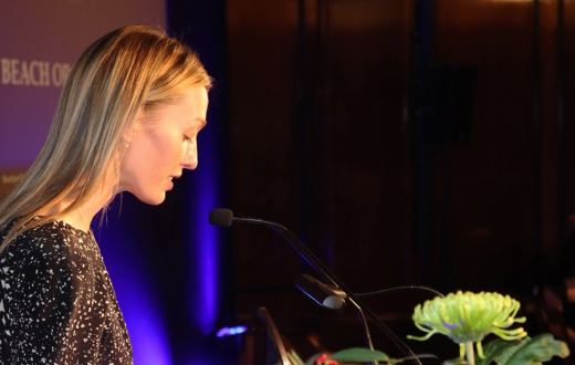 Cally Squires World Boutique Hotel Awards London © Lavender's Blue Stuart Blakley
