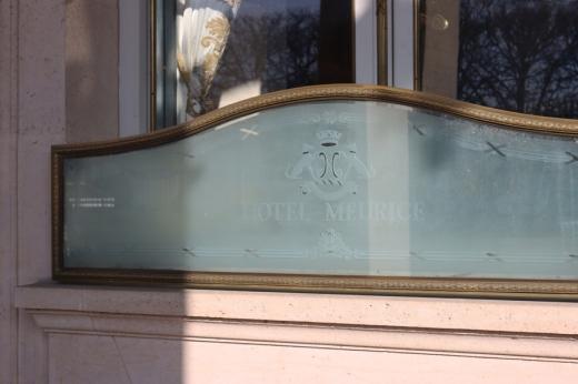 Rue de Rivoli Hotel Meurice Window Paris © Lavender's Blue Stuart Blakley