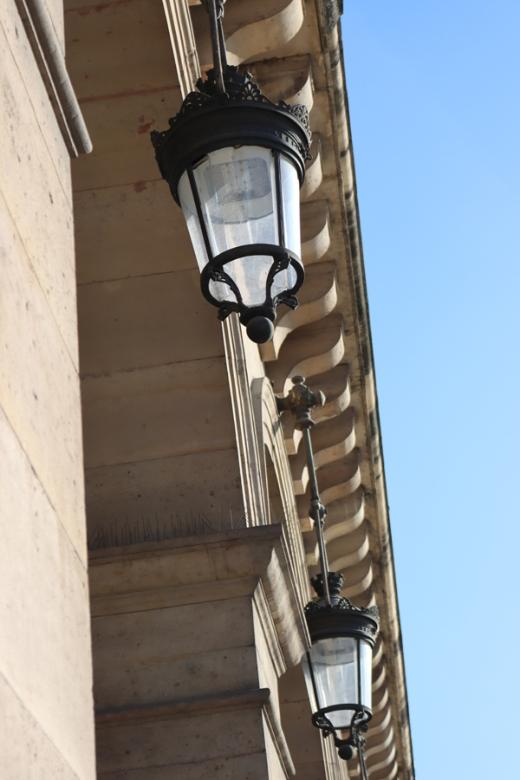 Rue de Rivoli Lamps Paris © Lavender's Blue Stuart Blakley