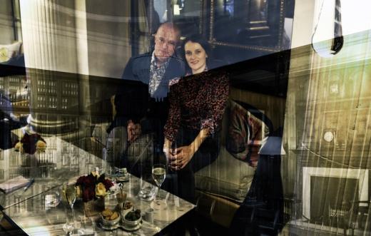Stuart et Maud Le Meurice Paris © Lavender's Blue Stuart Blakley