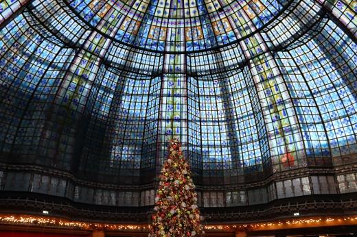 Printemps Dome Paris © Lavender's Blue Stuart Blakley