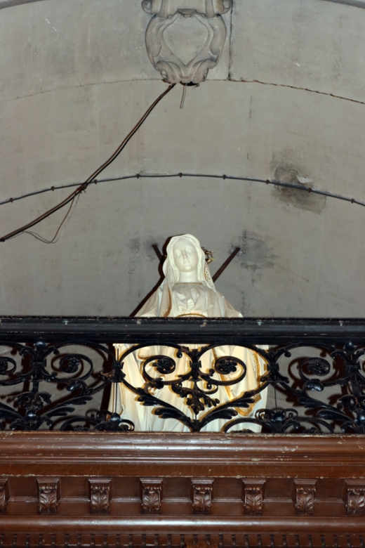 St Paul and St Louis Church Balcony Le Marais Paris © Lavender's Blue Stuart Blakley