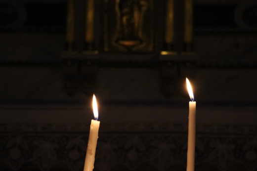 St Paul and St Louis Church Candles Le Marais Paris © Lavender's Blue Stuart Blakley