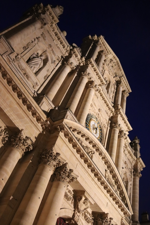 St Paul and St Louis Church Facade Le Marais Paris © Lavender's Blue Stuart Blakley