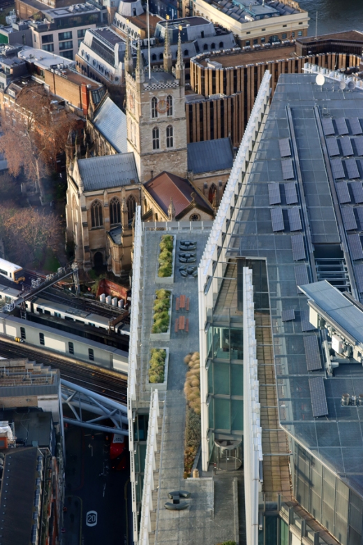 The Shard London View Southwark Cathedral © Lavender's Blue Stuart Blakley