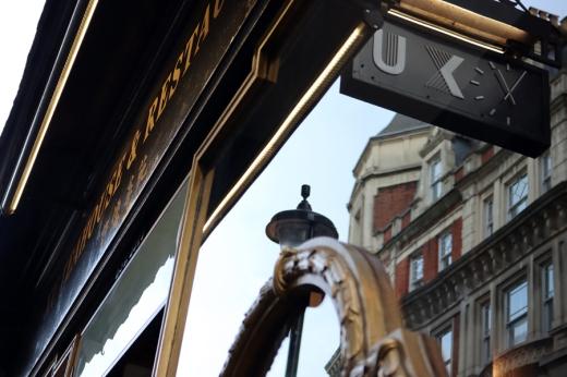 XU Restaurant Soho London Facade © Lavender's Blue Stuart Blakley