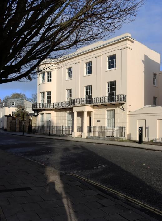 Carlton Crescent Conservation Area Southampton Architecture © Lavender's Blue Stuart Blakley