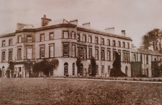 Montalto House Ballynahinch Old Photograph © Lavender's Blue Stuart Blakley